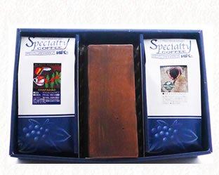 濃厚チョコレートケーキ「ヒロ大黒」と選べるスペシャルティコーヒー豆300g×2種類ギフトセット(送料無料)