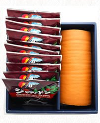 北海道産生クリーム「絹ロール」と選べるドリップコーヒー10個ギフトセット(送料無料)