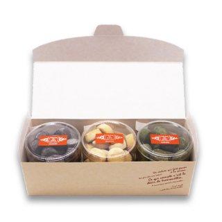 【ホワイトデー限定】選べるヒロ工房特製クッキー3種類・ギフトボックス入り