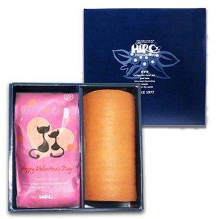 【バレンタイン限定】北海道産生クリーム 絹ロールとバレンタインブレンド (送料無料)