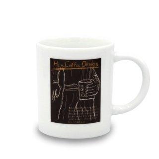 期間限定30%OFF【オリジナル商品】マグカップ 「He is COFFEE DRINKER」