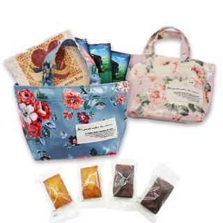 【母の日限定】マザーズブレンド ドリップコーヒー5個・焼き菓子5個セット(カーネーションフルリール付き・トートバッグ入り)