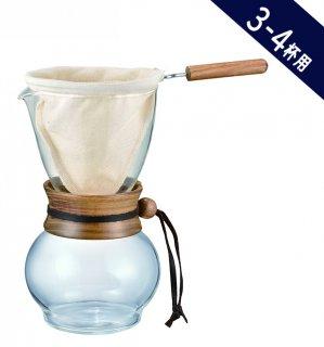 【コーヒー器具】ハリオ ドリップポット・ウッドネック 3-4杯用