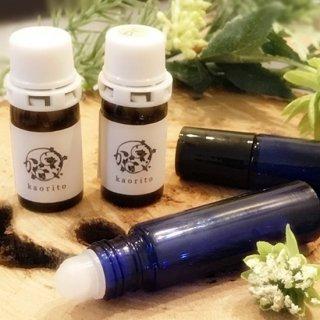 ロールオンアロマ香水キット(選べる3種の精油付)