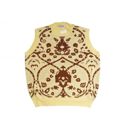 <img class='new_mark_img1' src='https://img.shop-pro.jp/img/new/icons11.gif' style='border:none;display:inline;margin:0px;padding:0px;width:auto;' />TTT MSW / Persia knit vest (yellow)