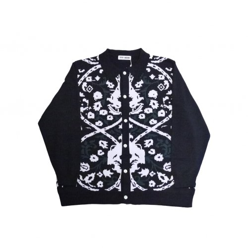 <img class='new_mark_img1' src='https://img.shop-pro.jp/img/new/icons11.gif' style='border:none;display:inline;margin:0px;padding:0px;width:auto;' />TTT MSW / Persia knit polo shirt (black)