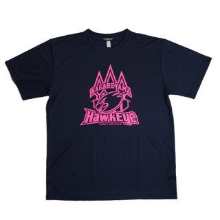 ホークアイ ドッカンロゴ Tシャツ キャサリンピンク