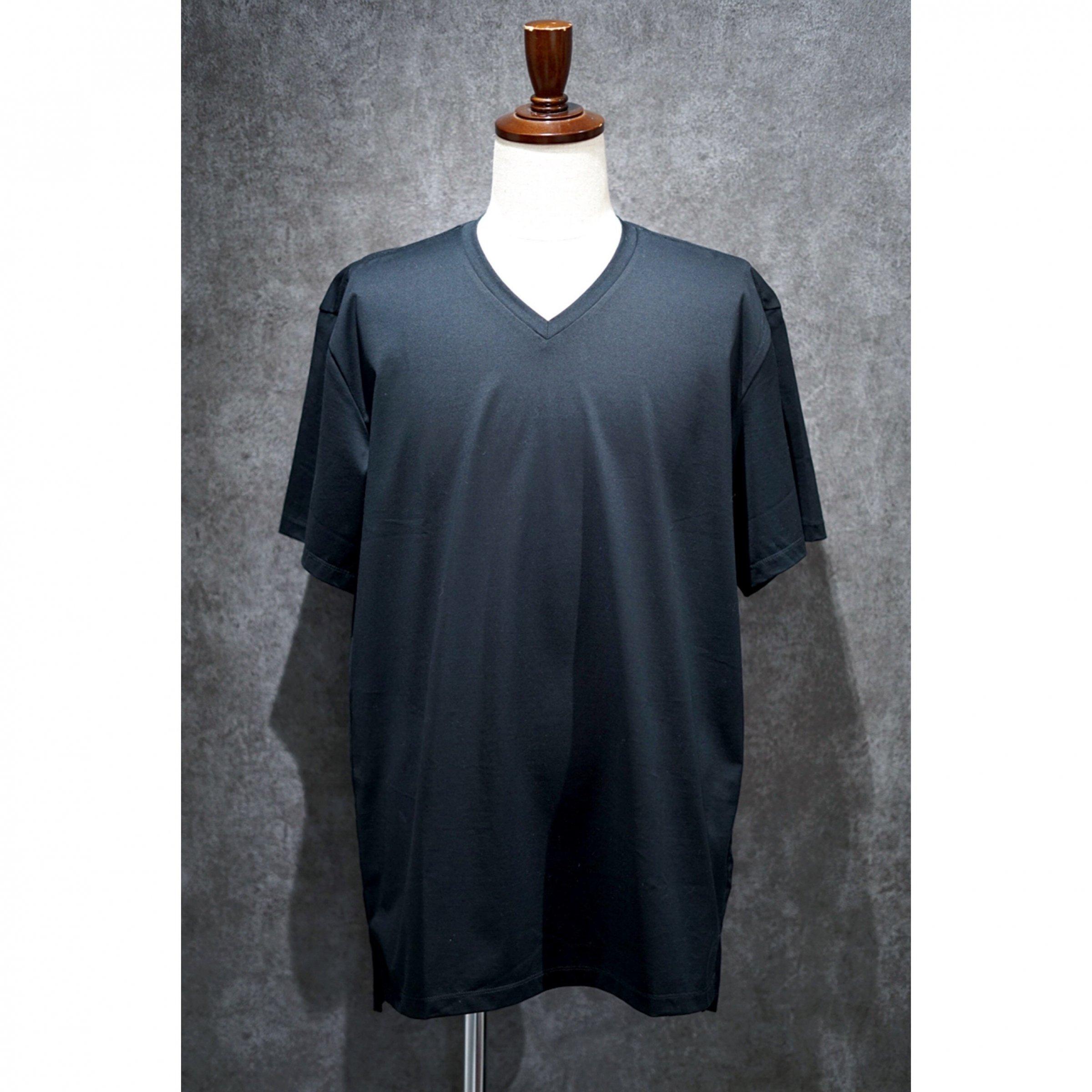 【CURLY】<br>ウルティマコットンVネックTシャツ