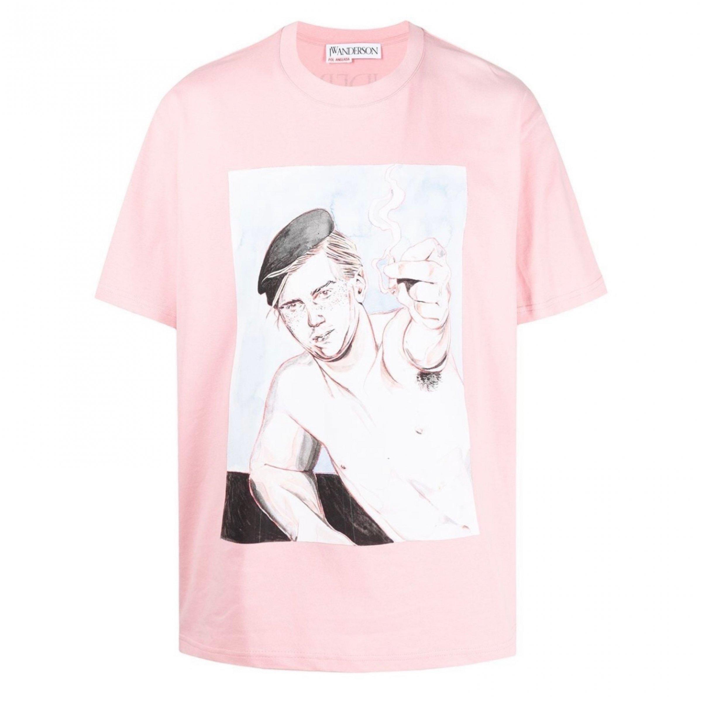 【JW ANDERSON】<br>オーバーサイズ プリントTEEシャツ
