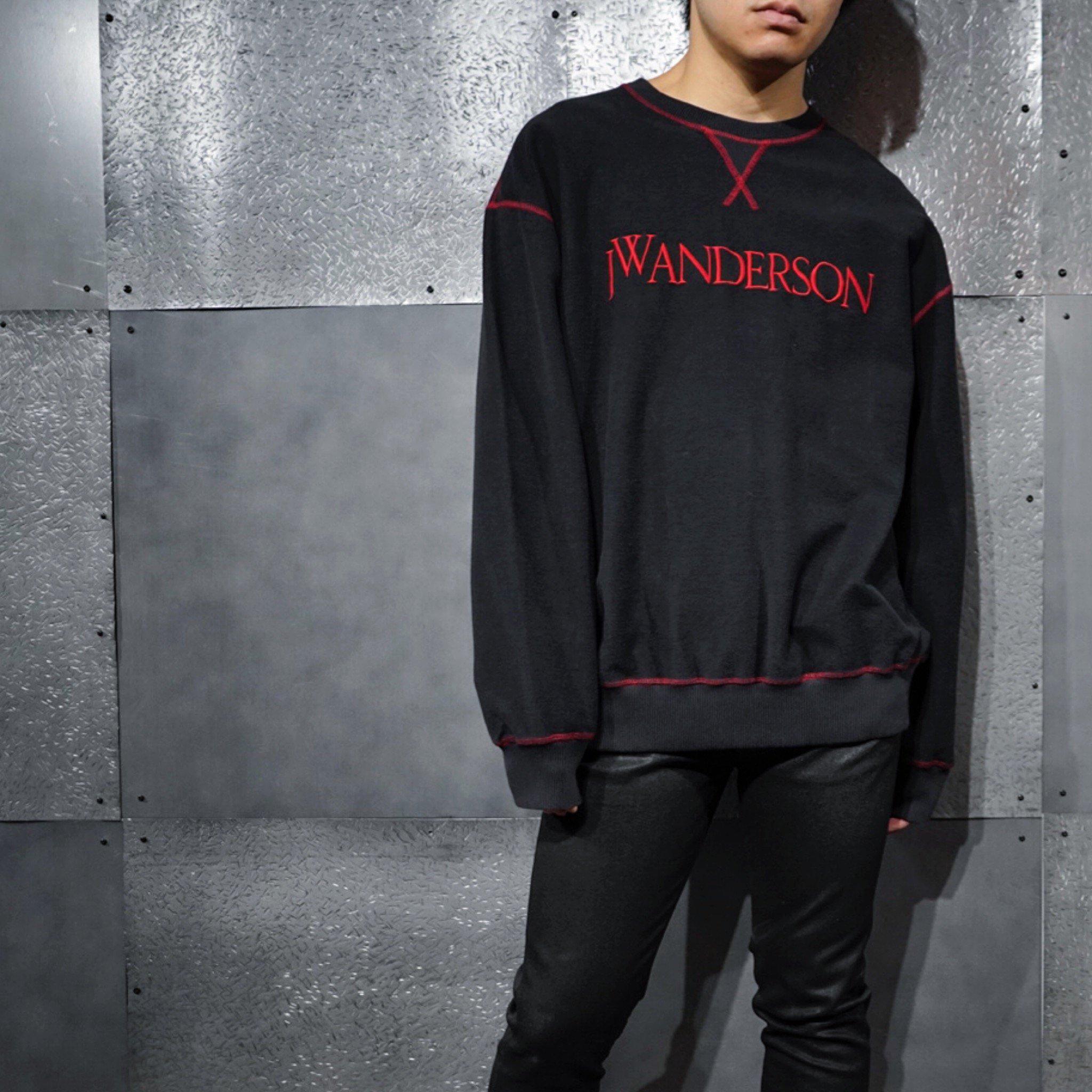 【JW ANDERSON】- インサイドアウトスウェットシャツ