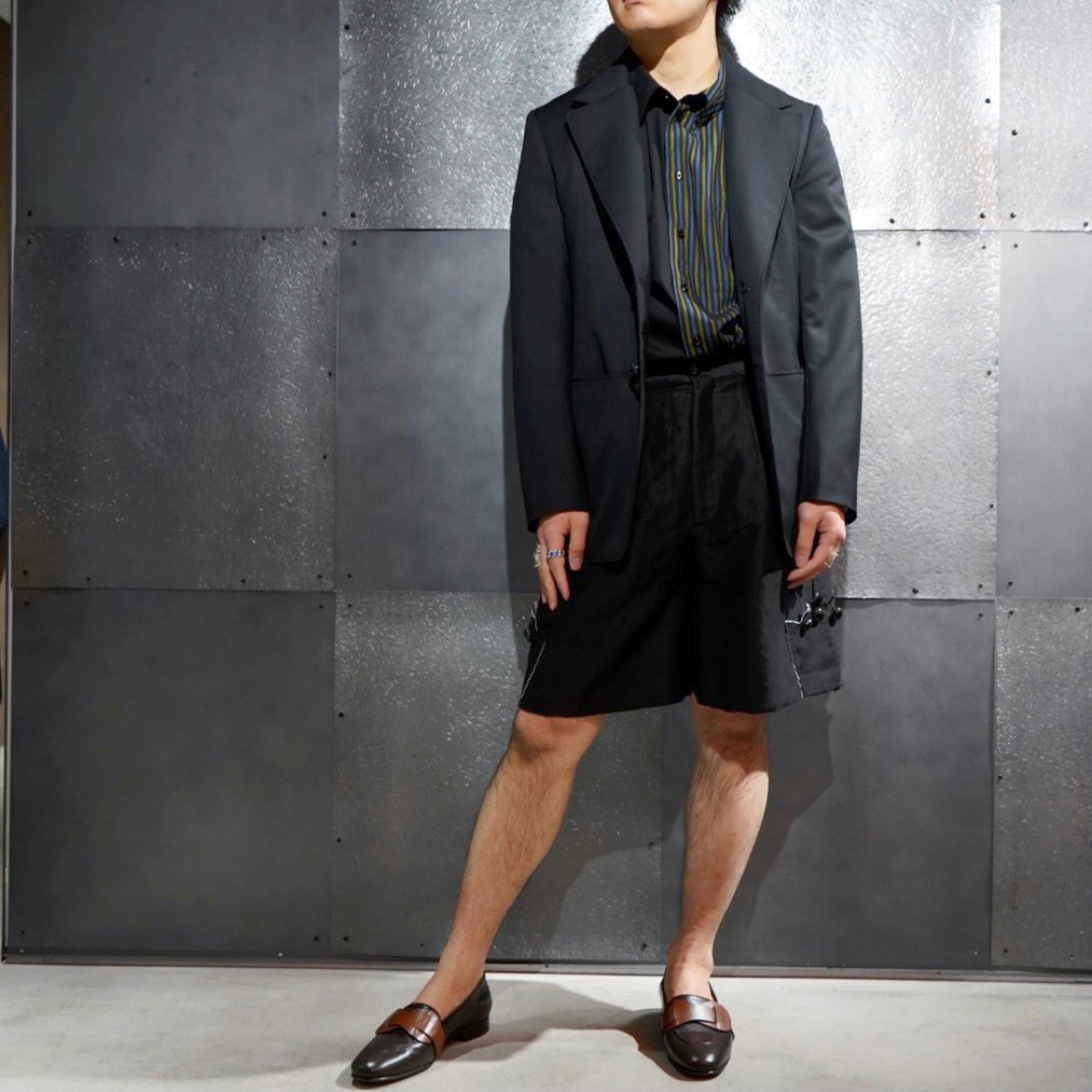 NAMACHEKO-<br>ウールテーラードジャケット
