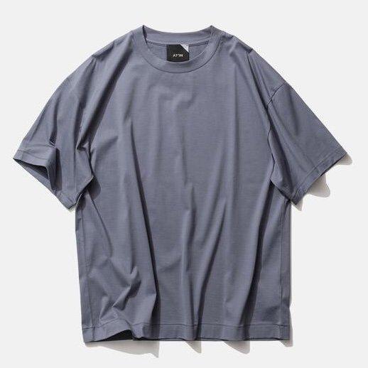 【ATON】<br>スヴィンコットン<br>オーバーサイズTシャツ