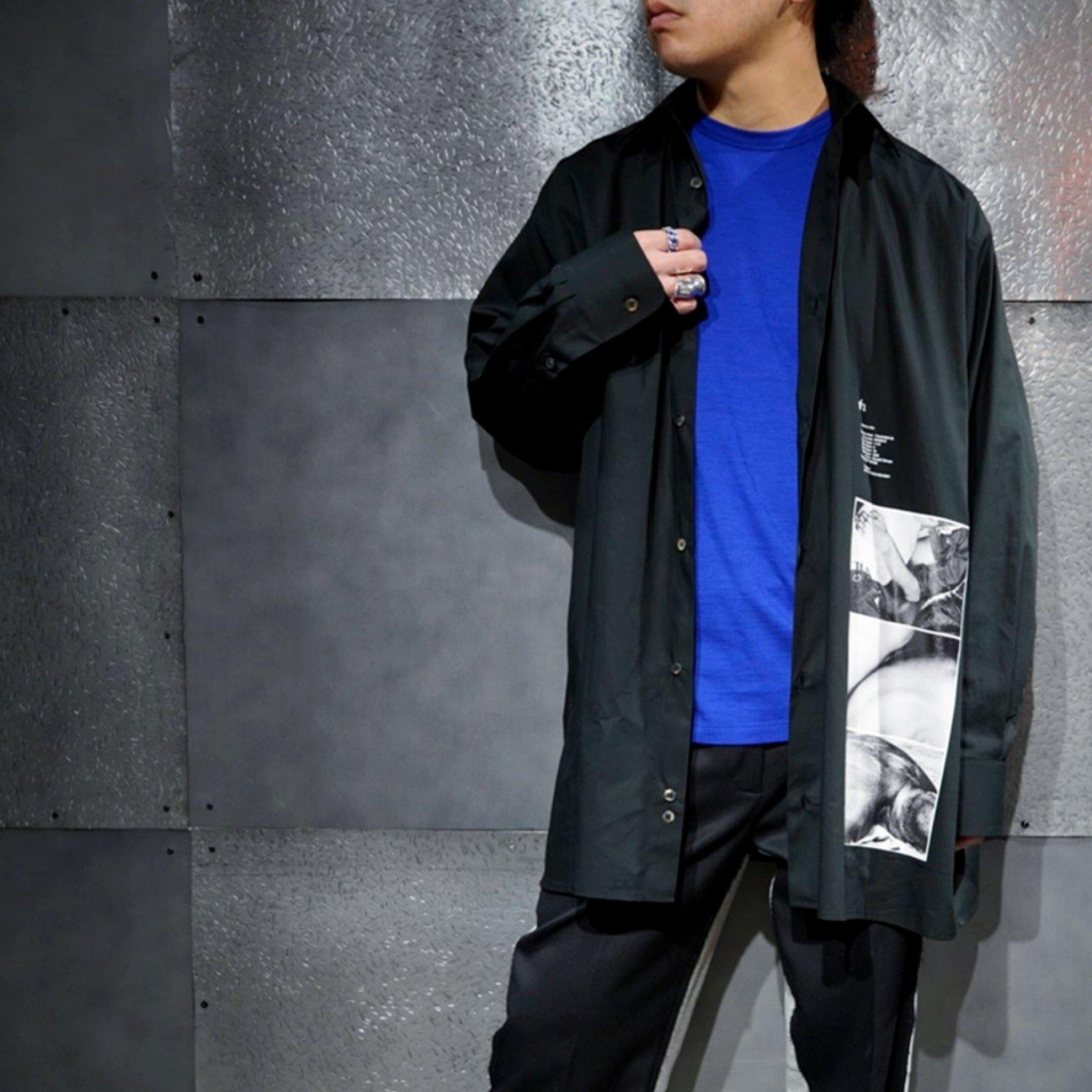 【TH】Ronald Stoopsグラフィックプリント<BR>オーバーサイズシャツ