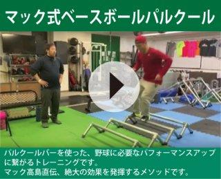 マック式ベースボールパルクール(URL送信版)動画