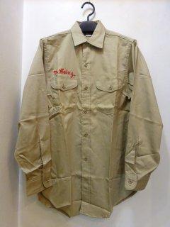 Dead Stock 50's Lee コットンツイル ワークシャツ