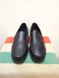 新品 Brooks Brothers ヴァンプローファー 黒 size 9 1/2 D