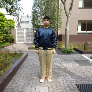Dead Stock 80's Dunbrooke Nylon Jacket ミシガン大学仕様