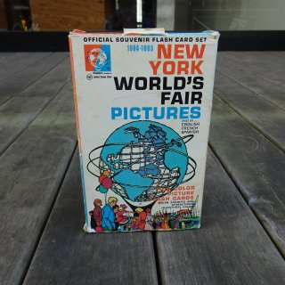 1964/65y NEW YORK WORLD FAIR Picture Flash Card Set