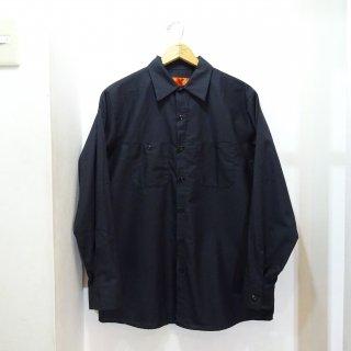 新品 REDKAP ロングスリーブ ワークシャツ size L 黒