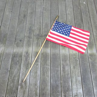 70's Vintage United States of America Hand Flag