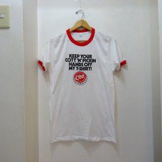 Dead Stock 80's Cott リンガーシャツ size L