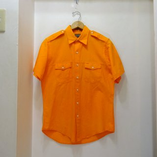 70's GANT コットンポプリン サファリシャツ size M