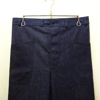 Dead Stock WW2 40's U.S.NAVY Denim Trouser W31 L31