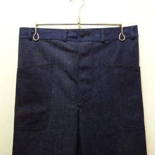 Dead Stock WW2 40's U.S.NAVY Denim Trouser W31 L31