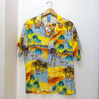 Dead Stock 90's Ocean Pacific レーヨンハワイアンシャツ アメリカ製 size M