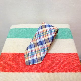 Vintage John Douglas Indian Madras Tie