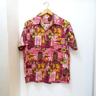 50's Malihini Cotton Hawaiian Shirts size M