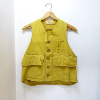 40's Gamemaster Yellow Duck Hunting Vest size about M