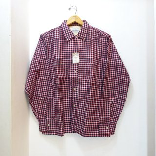 Dead Stock 50's ALAMO Printed Flannel B.D Shirts size M