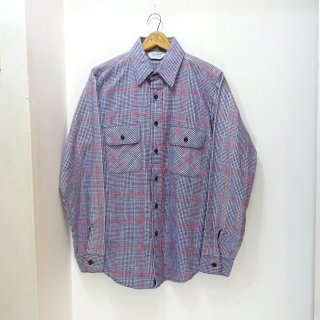 Dead Stock 80's 5Brother Heavy Flannel Work Shirts size M