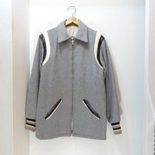 50's Okrent's Wool Long Award Jacket size 38-40