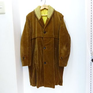 50's THE HECHT CO Corduroy Pharaoh Coat size about 40