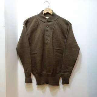 Dead Stock 1967y U.S.ARMY High-Neck Wool Sweater Sweater size L