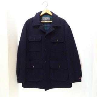 70's Lord & Taylor Dark Navy Wool Jacket size 42