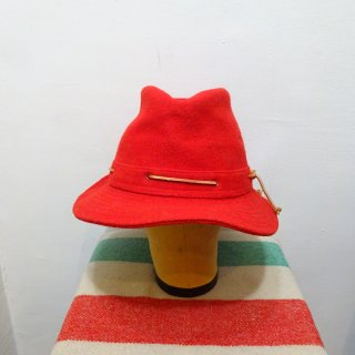 80's QUAKER MARINE Wool Hat size about 7 3/8