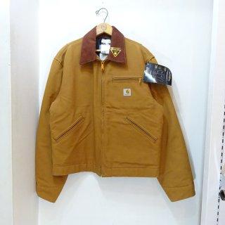 Dead Stock 2010y Carhartt Brown Duck Detroit Jacket size 40 Made in U.S.A