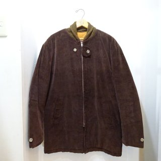 60's Outerwear Corduroy Pharaoh Coat size about 40