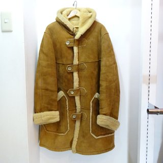 60's VICARY'S Mouton Duffle Coat size about 42