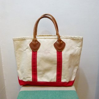 80's L.L.Bean Boat & Tote Leather Handle size M
