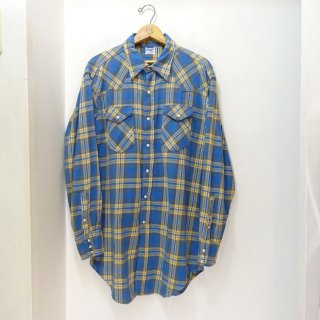 60's Wrangler Heavy Flannel Western Shirts size 16 1/2 - 34
