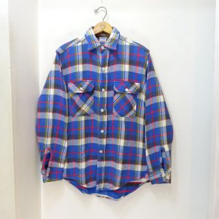 50's Uncle Sam Heavy Flannel Work Shirts size about 15