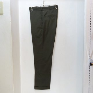 Dead Stock 70's Lee LTP Cotton / Poly Parmanent Press Pants Olive size W31 L30