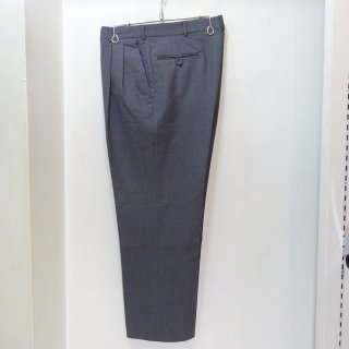 90's L.L.Bean Two Tuck Wool Slacks Gray size W34 L28