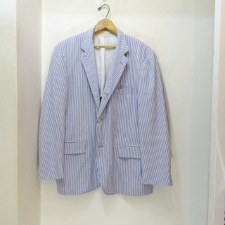 70/80's Brooks Brothers 3 Button Seersucker Jacket size about 40R
