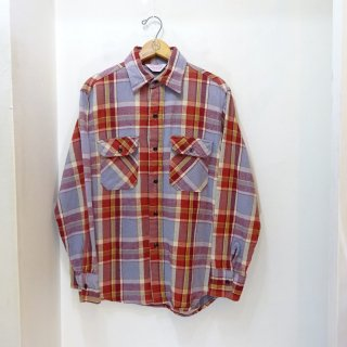 80's Frostproof Heavy Flannel Work Shirts size M