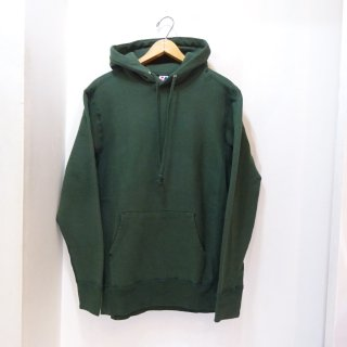 New Stateline Reverse Weave Sweat Parka Made in U.S.A size M Green